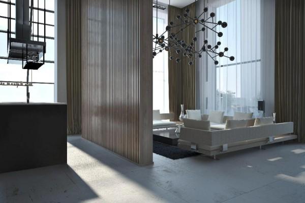 dynamische moderne interior designs atomgruppe pendelleuchten