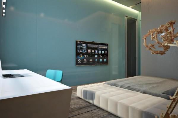 dynamische moderne interior designs glanzvoll matratze