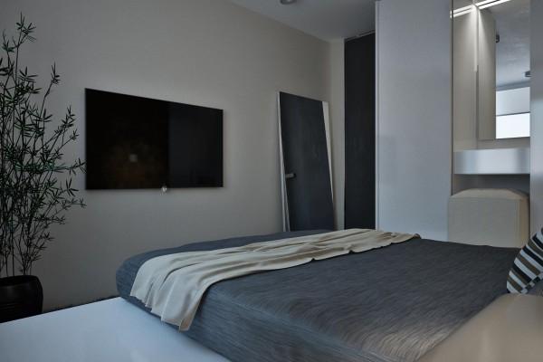 dynamische moderne interior designs schlafzimmer decken