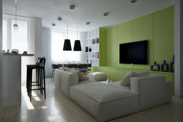 schöne städtische interior designs sofa wohnbereich pendelleuchten