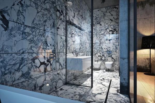 dynamische moderne interior designs-wc badezimmer