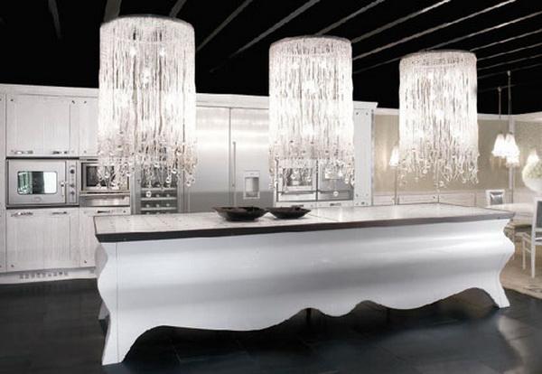 elegante außergewöhnliche designer küche exzentrische ausstellung