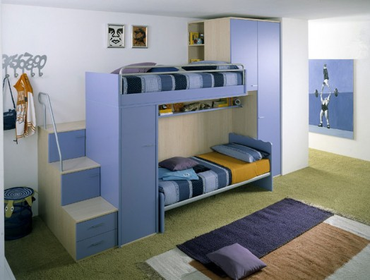 ergonomische kinderzimmer designs f r zwei kleinkinder angebracht. Black Bedroom Furniture Sets. Home Design Ideas