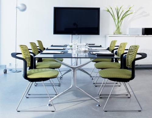 ergonomische schreibtisch stühle plastisch grün izzy