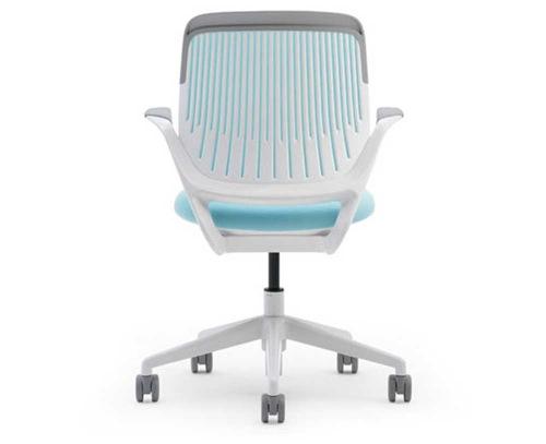ergonomische nachhaltige Schreibtisch Stühle rollen office cobi