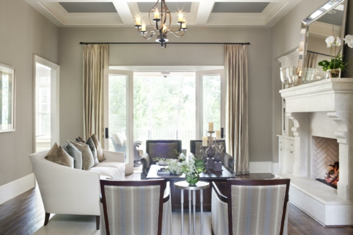 erholsames zuhause einrichten beige farben nuancen klassisch