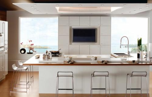 Einrichtungsideen küche modern  Erholsames Zuhause einrichten - mehr Entspannung in der Wohnung