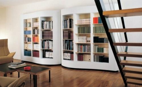 erstaunliche praktische haus bibliotheken eingebaut cassina