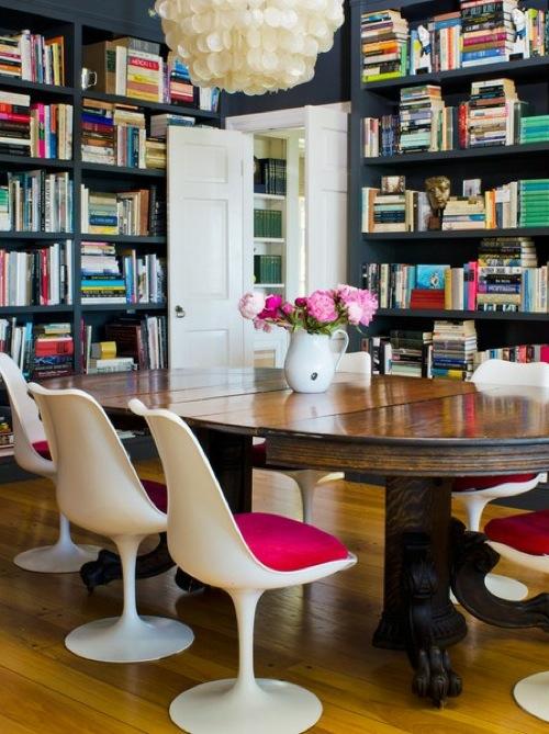 erstaunliche praktische haus bibliotheken hell farben