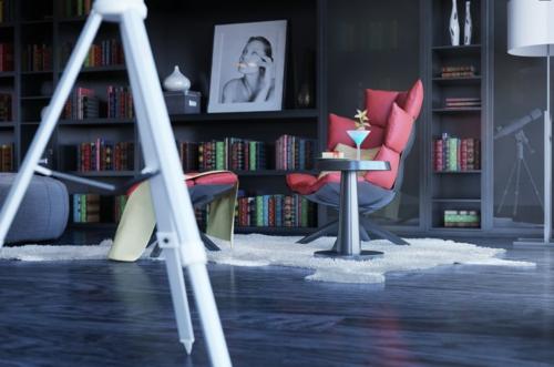 erstaunliche praktische haus bibliotheken modern