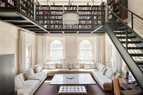 emejing hausbibliothek regalwand im wohnzimmer contemporary