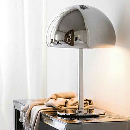 erstaunliche trendy lampen ideen metall oberfläche