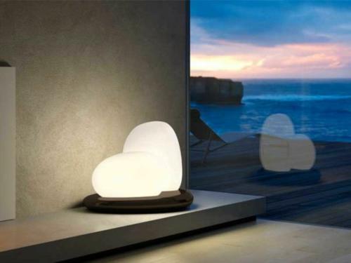 erstaunliche trendy lampen ideen romantisch herzen förmig