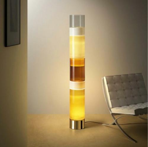 erstaunliche trendy lampen ideen stehlampe flüssigkeit