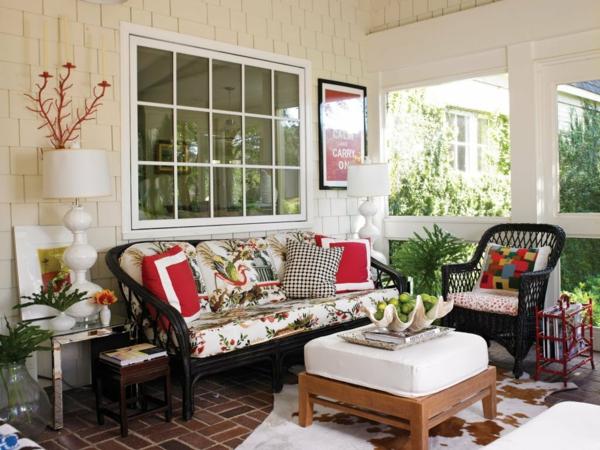 Extravagante attraktive outdoor Bereich Neugestaltung gartenmöbel veranda