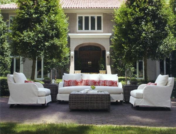 Extravagante attraktive outdoor Bereich Neugestaltung rattan garten möbel