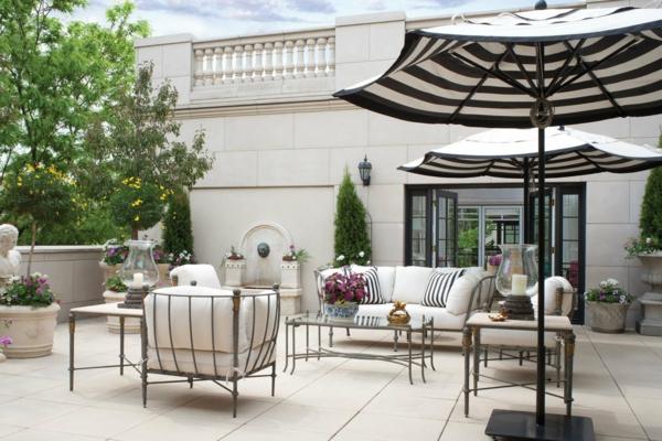 Extravagante attraktive outdoor Bereich Neugestaltung vintage stil möbel