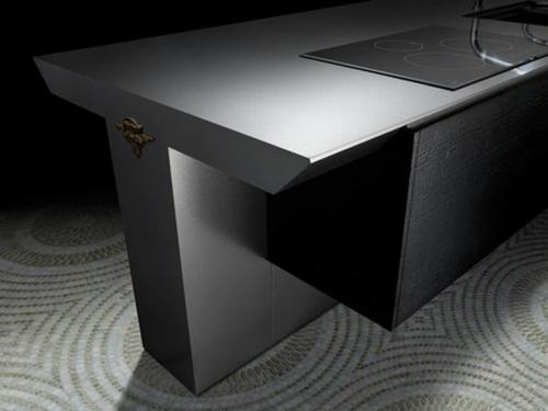 exzentrische schicke küchen möbel sammlung kochplatte