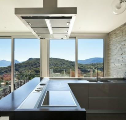 funktionale k chen inseln kochen servieren und genie en. Black Bedroom Furniture Sets. Home Design Ideas
