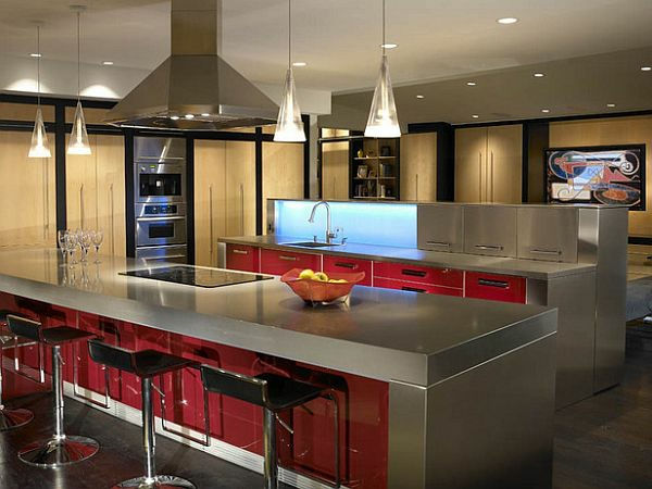 funktionale kchen inseln kochen servieren und genieen sie dabei - Moderne Kchen Mit Insel