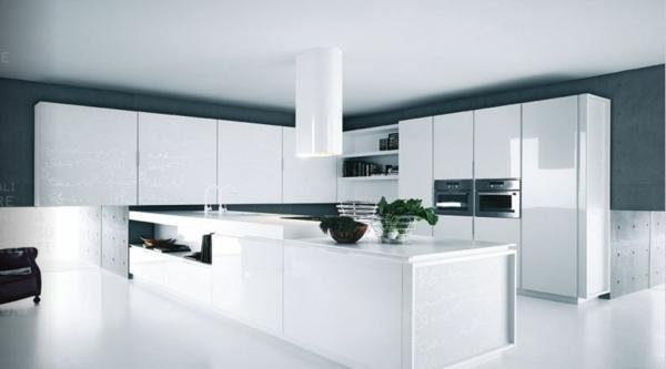 Einrichtungsideen küche modern  Funktionale Küchen Inseln - Kochen, Servieren und Genießen Sie dabei!