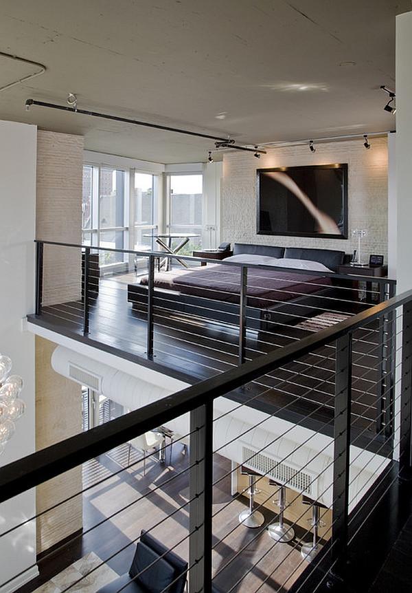 gemütliches schlafzimmer design im dachgeschoss einrichten modern
