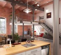 gemütliches schlafzimmer design im dachgeschoss einrichten, Innenarchitektur ideen