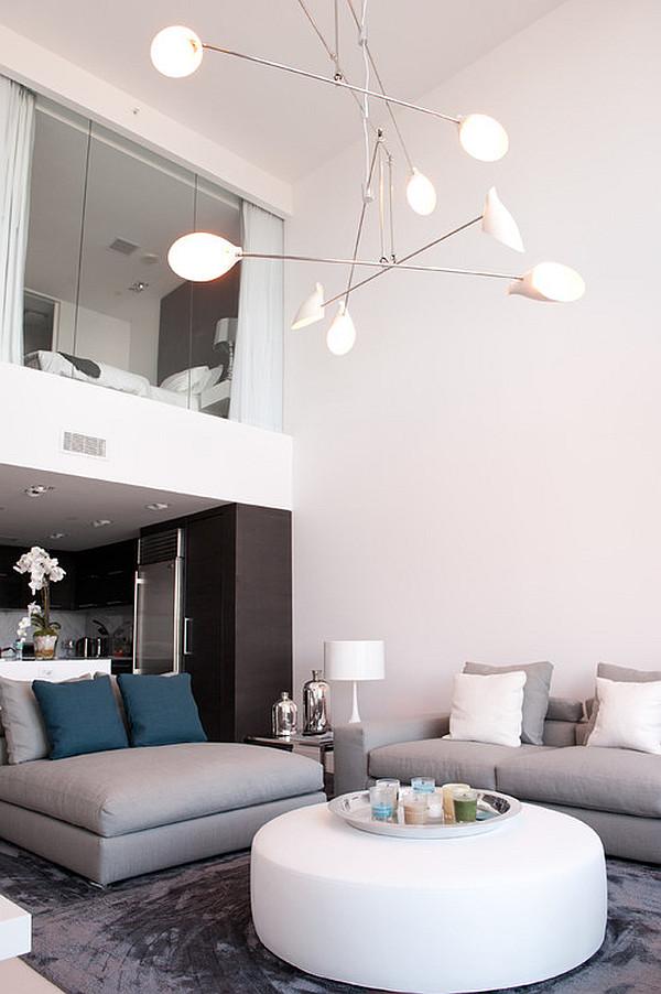 gemütliches schlafzimmer design im dachgeschoss wohnzimmer