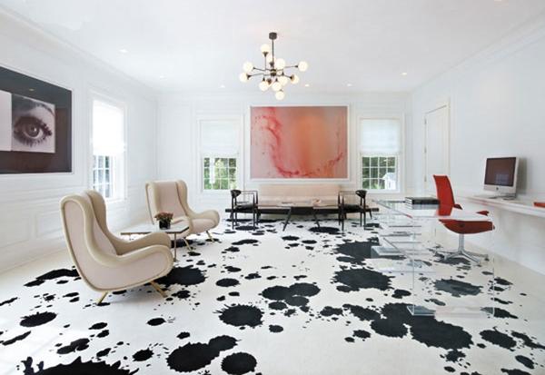 Fußbodenbelag Schwarz ~ 20 ideen für modern gemalten bodenbelag zu hause