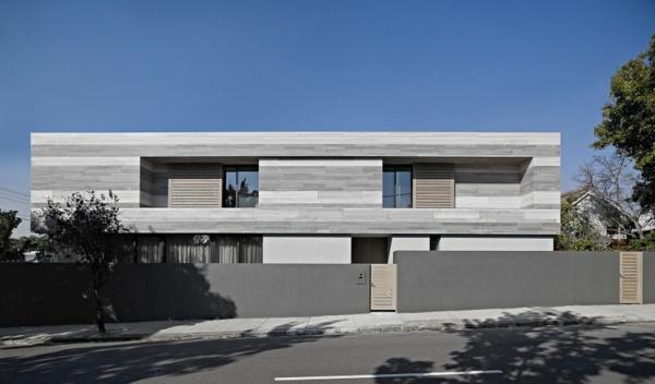 Fantastisch Großes Modernes Haus Architektur Monochromatisch