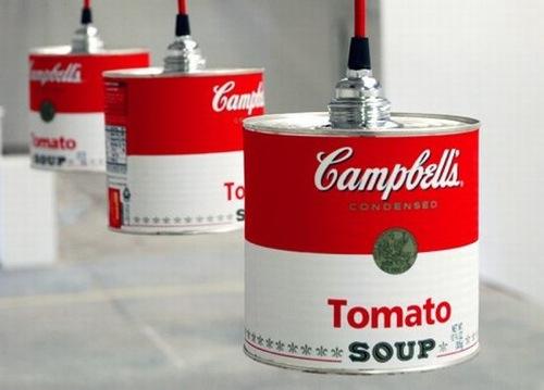 pendant Lampen aus recycelten Gegenständen gefertigt willem heeffer
