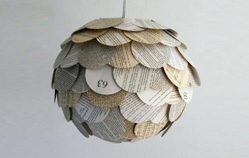 hängende Lampen aus recycelten Gegenständen gefertigt zipper 8