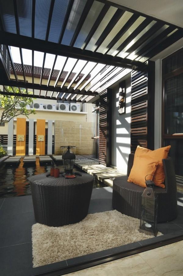 20 Haus Designs mit indoor Wasser Garten - eigene Oase zu Hause