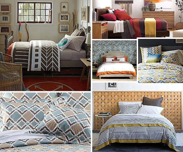 Herbstliche Bettwäsche Designs Im Schlafzimmer Idee Schlafzimmer