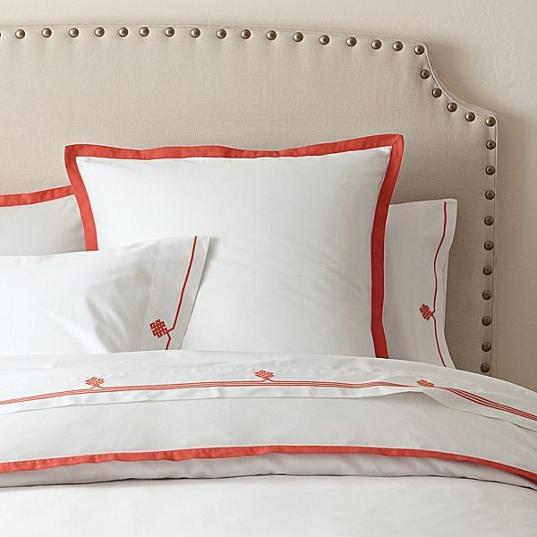 herbstliche Bettwäsche Designs im Schlafzimmer  idee weiß orange