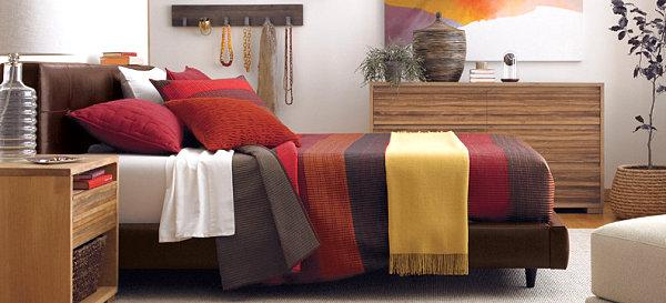 Herbstliche Bettwäsche Designs Im Schlafzimmer Bettdecken