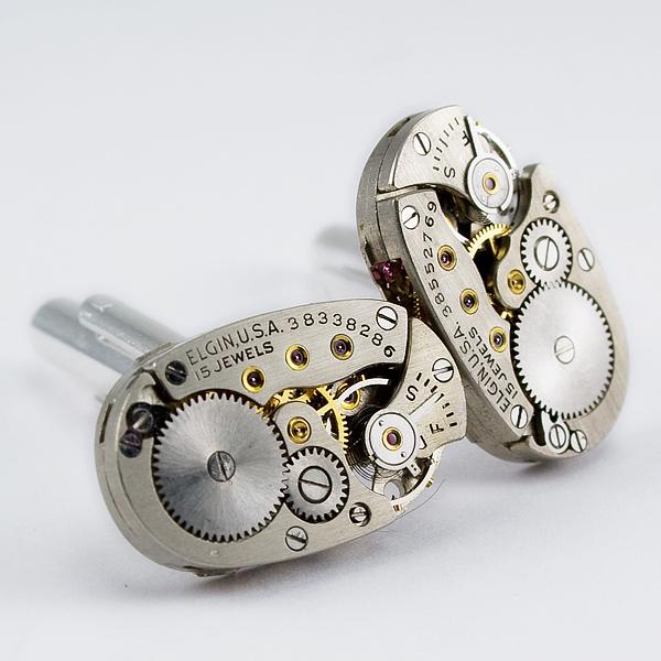 herrlicher juwelier schmuck mechanismen manschetten knöpfe