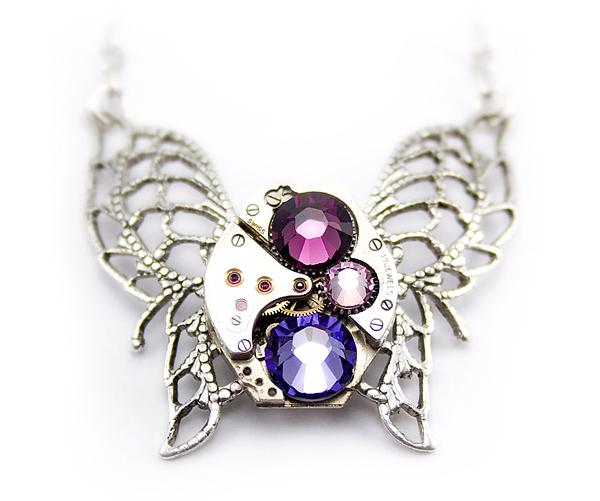 herrliches juwelier schmuck schmetterling edelsteine