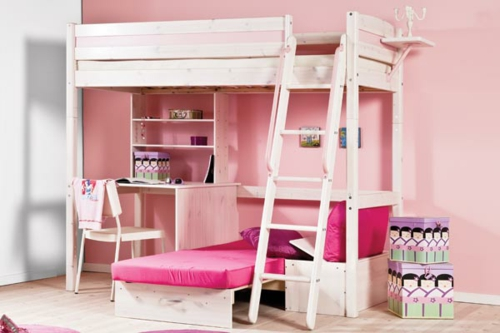 kinder stockbett latest kombibett jugendbett kinder hochbett bett wei blau with kinder. Black Bedroom Furniture Sets. Home Design Ideas