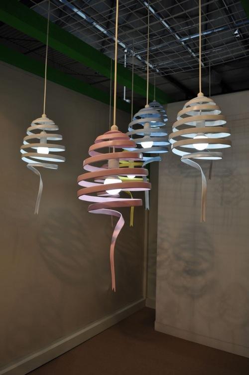 moderne weiche beleuchtung hängelampen monochro design studio