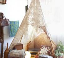 10 interessante Ideen für indoor Zelt Camping