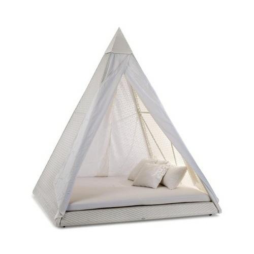 indoor zelt camping weiß idee wurfkissen
