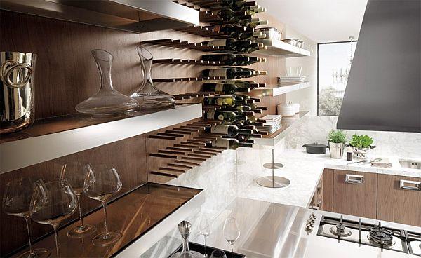 k chen m bel aus walnuss holz barrique kollektion. Black Bedroom Furniture Sets. Home Design Ideas