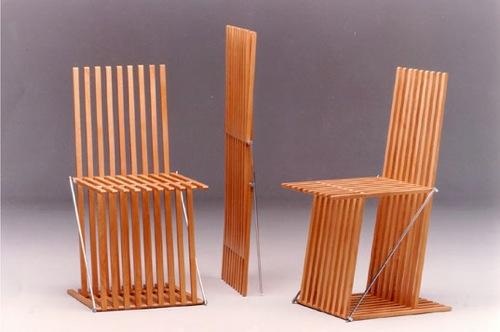klappbare möbel designs holz gitter struktur dieter paul
