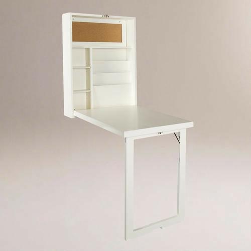 klappbare möbel designs weiß tisch regale