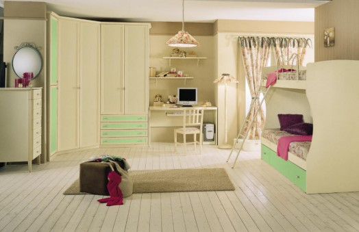 20 klassische kinderzimmer einrichtungen von effedue mobili entworfen - Bodenbelag kinderzimmer ...