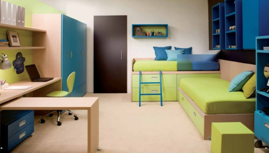 kinderzimmer ideen für kleine räume | möbelideen - Kleines Kinderzimmer Einrichten Ideen