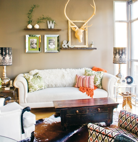 gemutliche einrichtungsideen kleine wohnzimmer, 12 kleine räume elegant gestalten - luxuriöse coole ideen, Ideen entwickeln