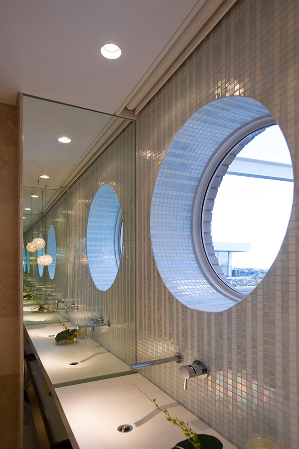 Small Round Windows Interior