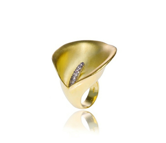 kreative luxus ringe designer originell dunkel elegant blume
